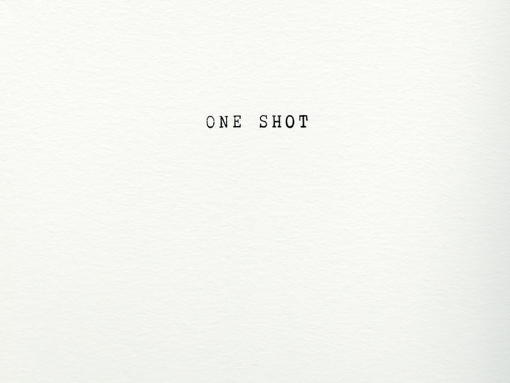 ONE SHOT / Carolina Pimenta